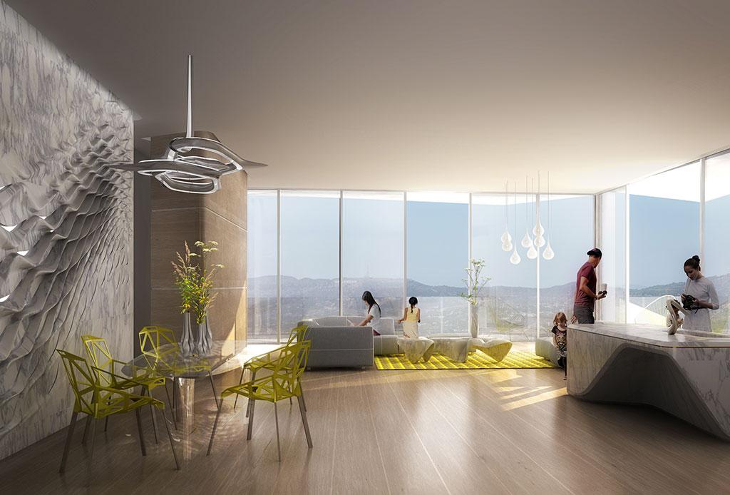 Un ambicioso proyecto de Zaha Hadid llega a la CDMX y estará en ¡Santa Fe! - torre-bora-3