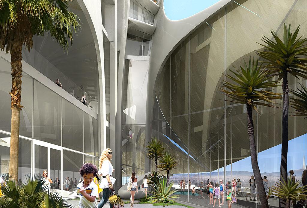 Un ambicioso proyecto de Zaha Hadid llega a la CDMX y estará en ¡Santa Fe! - torre-bora-4