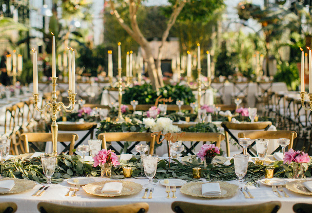 Tendencia en flores para bodas durante la primavera/verano