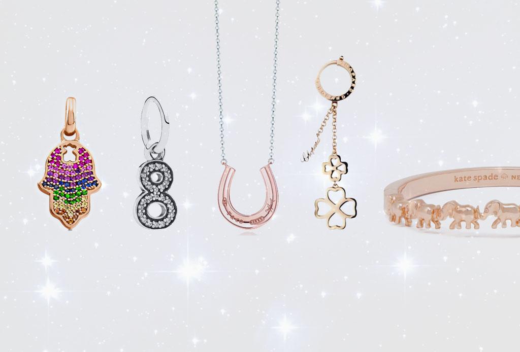 Joyería con símbolos de la suerte para comenzar bien el año