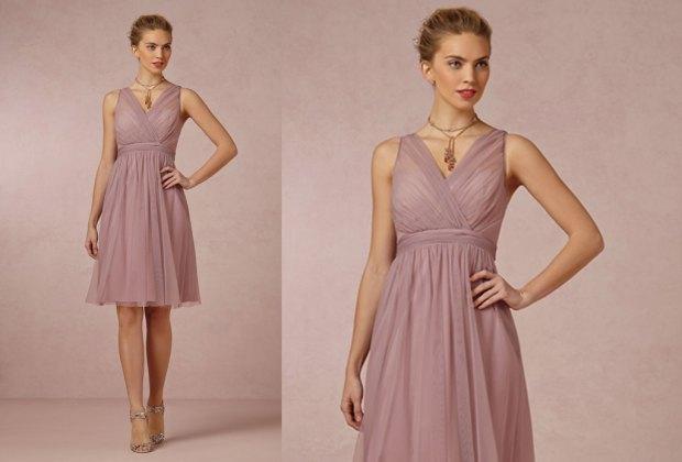 ¡Atención brides-to-be! Este es el color que las damas de honor usarán este año - nostalgia-rose-damas-de-honor