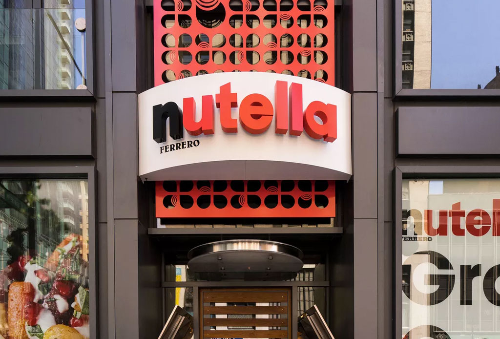 ¿Vas pronto a Chicago? El Nutella Cafe es una parada obligada
