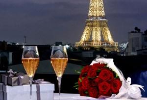 Festeja el Día de San Valentín de la manera más romántica en París