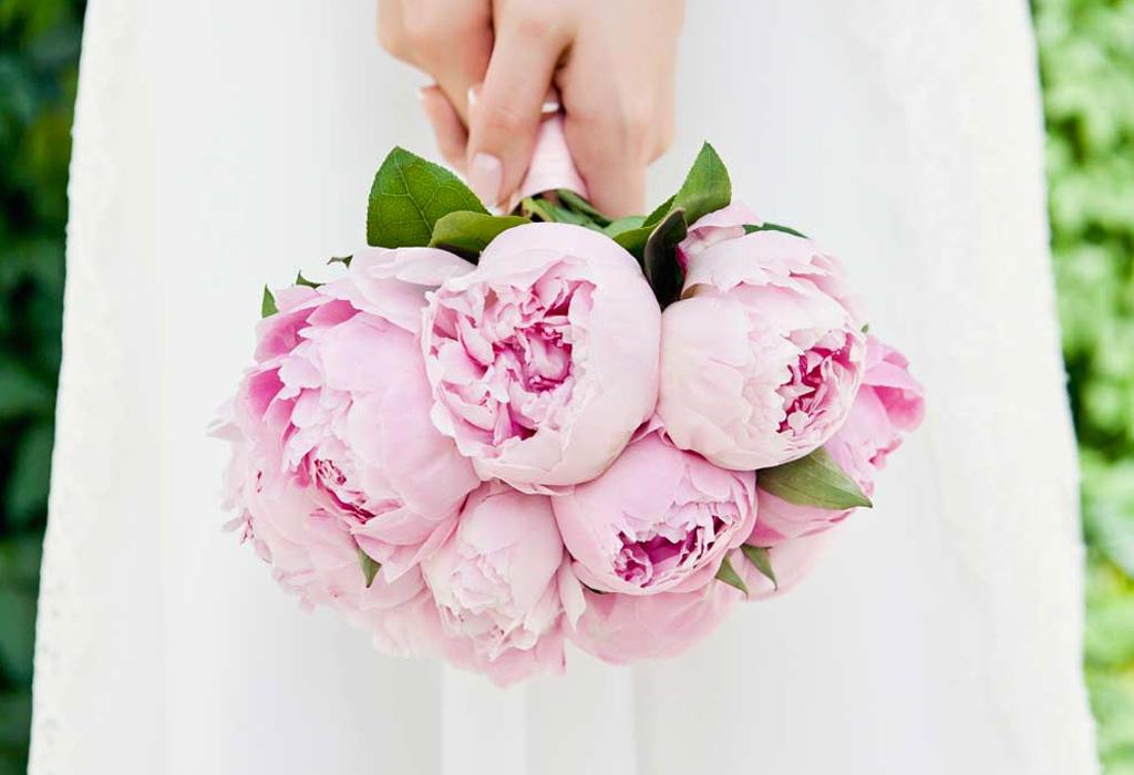 Tendencia en flores para bodas durante la primavera/verano - peonies