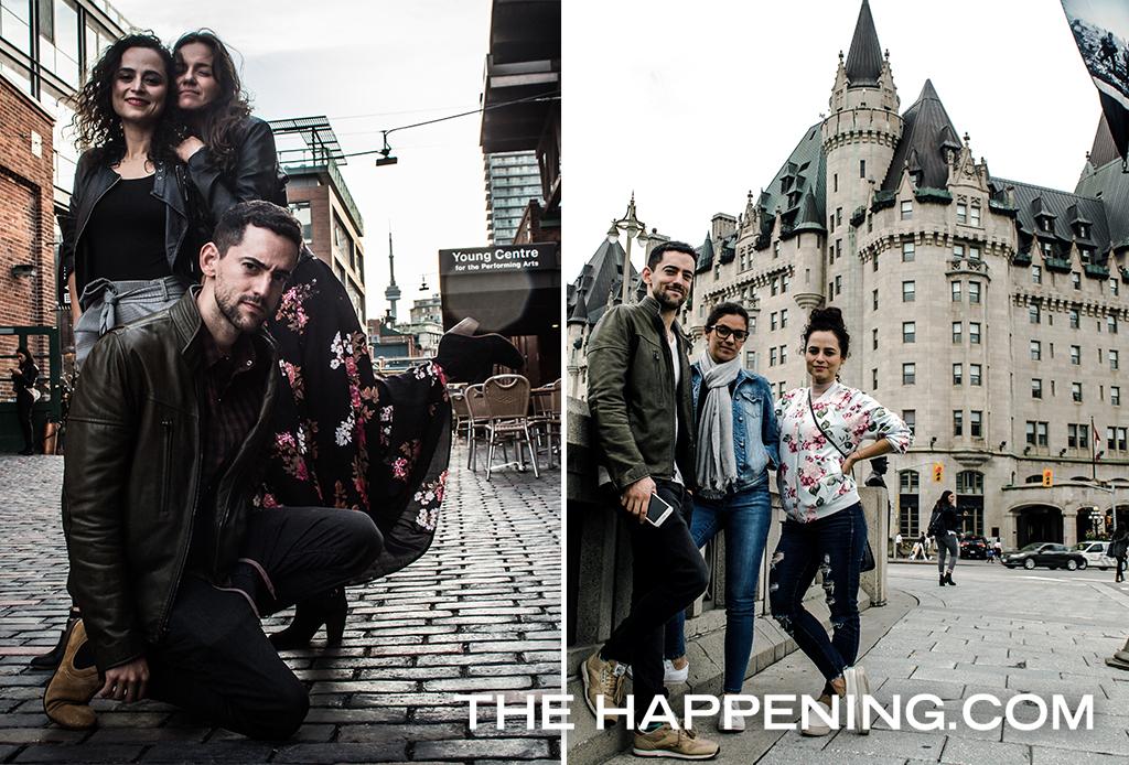 Luis Gerardo Méndez y sus mejores amigas conocieron Toronto y Ottawa al estilo The Happening