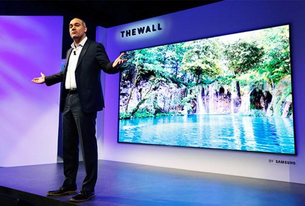 The Wall, una pantalla de Samsung que es del tamaño de una pared - the-wall-1024x694