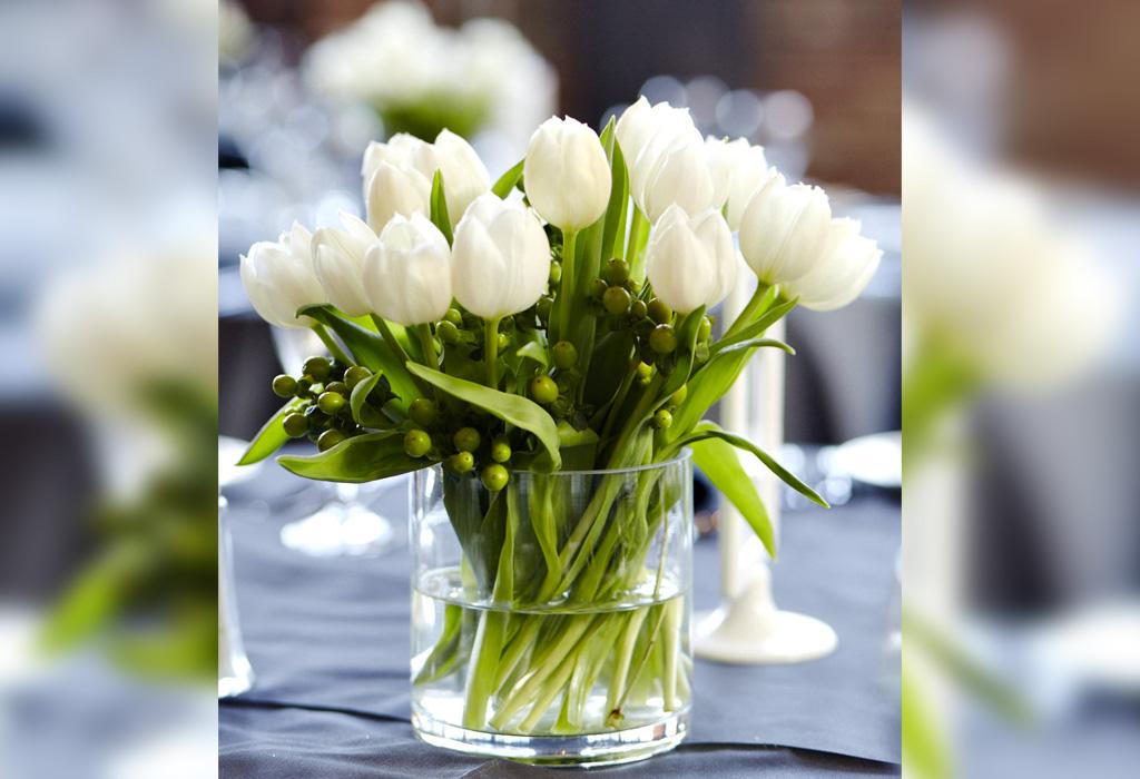 Tendencia en flores para bodas durante la primavera/verano - tuliip