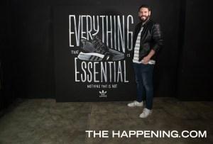 El letrista tapatío Chisko Romo creó una obra para el re-lanzamiento del modelo EQT de Adidas