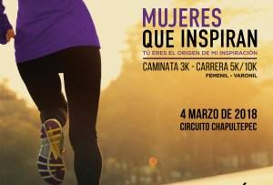 Carrera 'Mujeres que Inspiran'