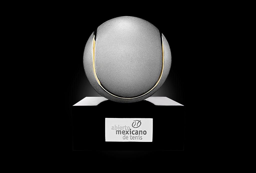 ¿Ya conoces el significado de los trofeos del Abierto Mexicano de Tenis? - trofeo-tenis