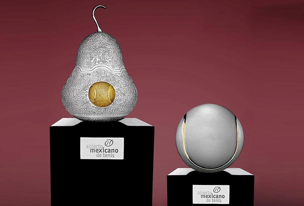 ¿Ya conoces el significado de los trofeos del Abierto Mexicano de Tenis?