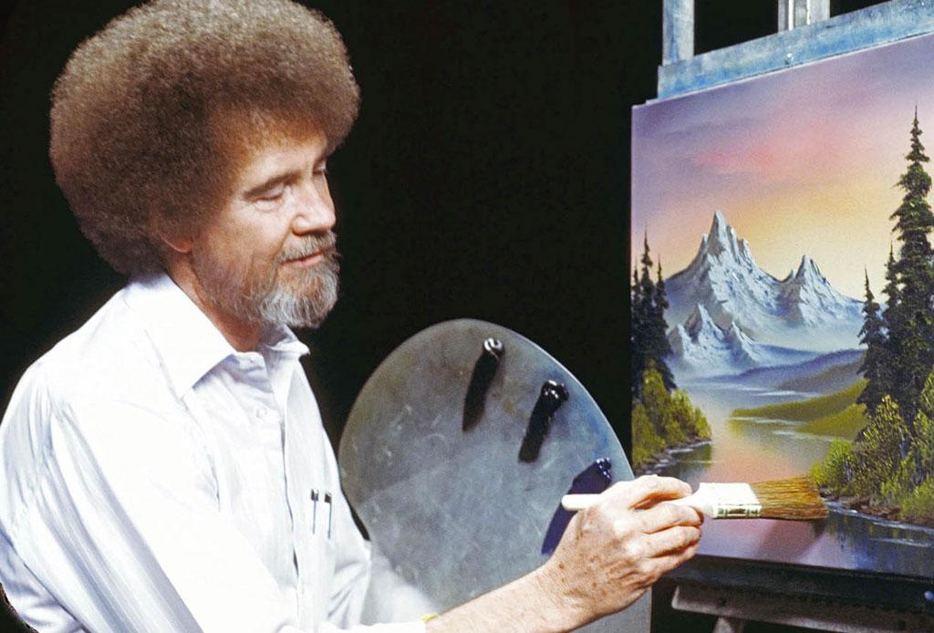 ¿Te acuerdas del pintor Bob Ross? Seguramente no sabías estos datos curiosos - bob-ross-02