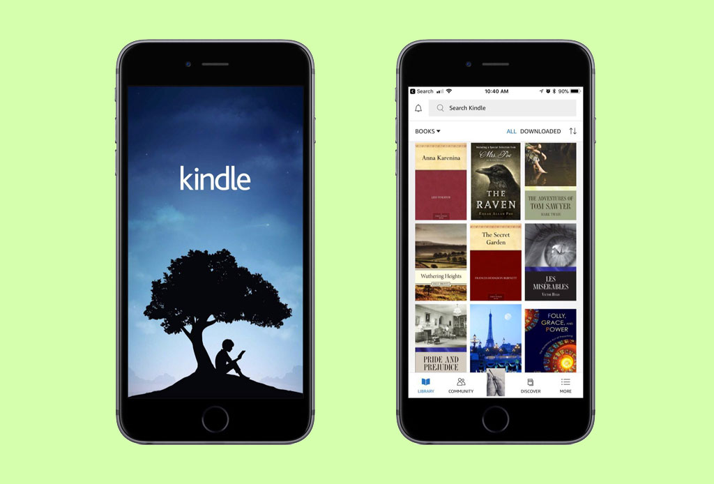 Conviértete en un E-reader y lee tus libros favoritos en estas apps - kindle