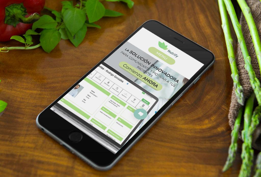 Nutrify: la app que será la aliada de los nutriólogos