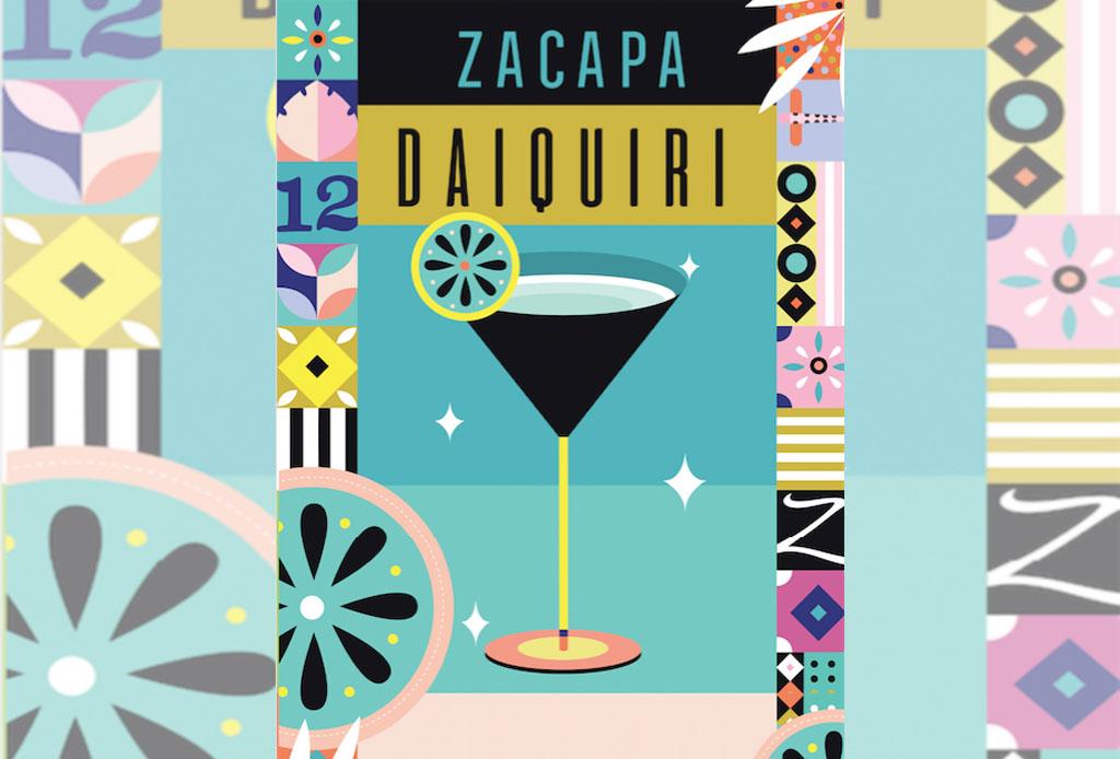 La etiqueta de Zacapa Ámbar fue reinterpretada por ilustradores mexicanos - zacapa_1