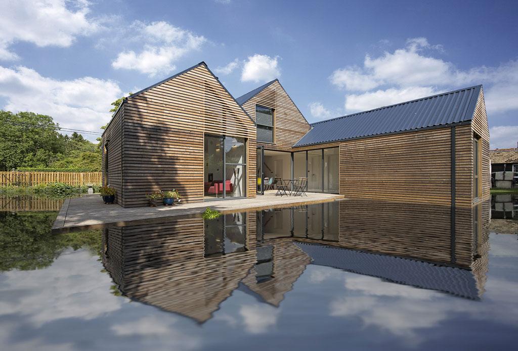 Las casas flotantes son el futuro ante el cambio climático - casas-anfibios-2