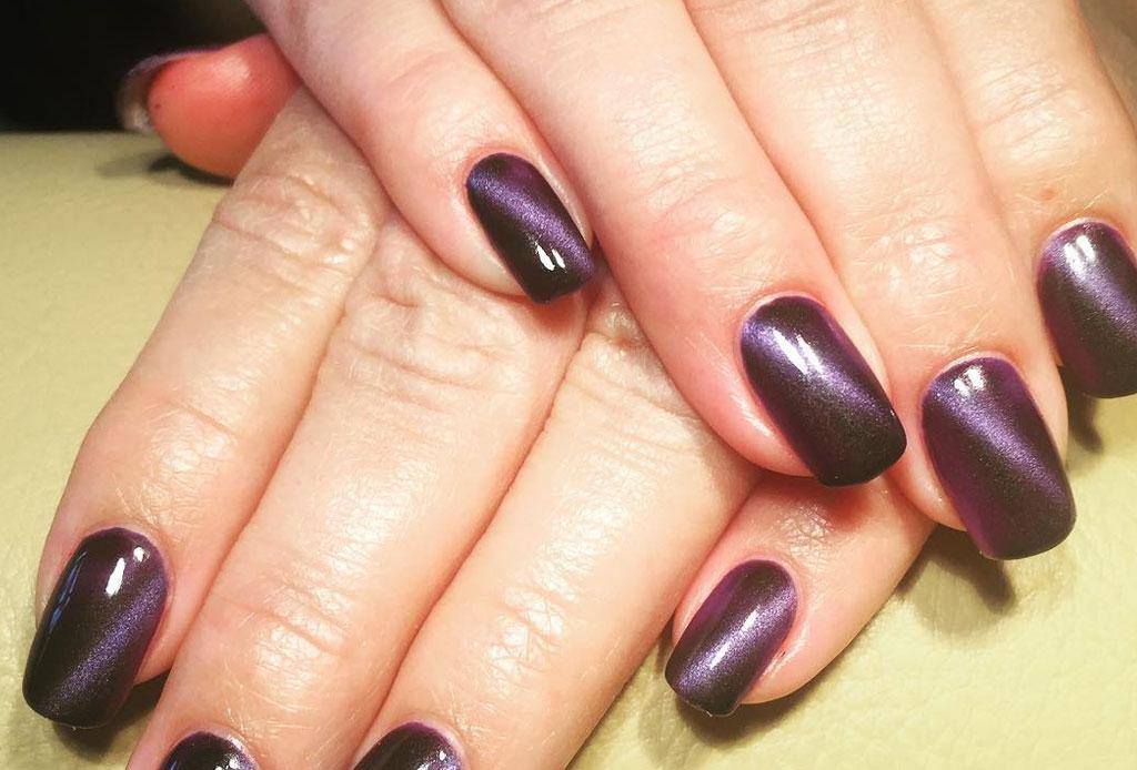 Cat Eye Manicure, el estilo en uñas que invade esta temporada - cat-eye-manicure-unas-2