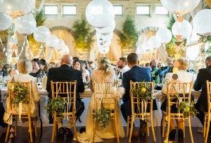 Mesas rectangulares: Las favoritas para un banquete de boda ideal