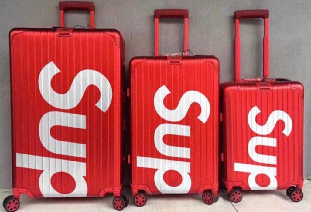 Supreme hizo colaboración con Rimowa y creó las maletas más cool, ¿ya las viste?