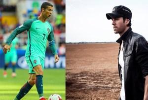 Cristiano Ronaldo y Enrique Iglesias unen fuerzas para apoyar la lucha contra el cáncer
