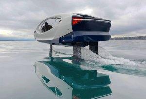 Muy pronto los taxis en París serán vehículos acuáticos voladores