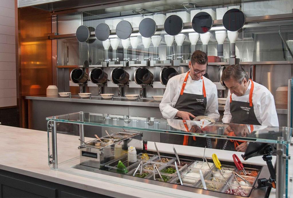 La primera cocina robótica estará a menos de 5 horas de México