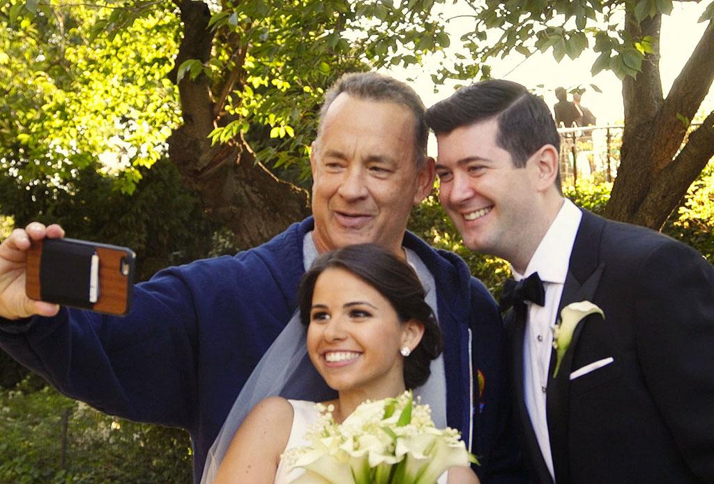 Estas celebridades llegaron por sorpresa a bodas de extraños