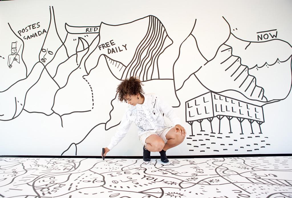Colaboraciones muy cool que nos encantan de Shantell Martin
