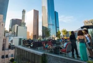 Los rooftoops bars que tienes que visitar en el centro de Los Ángeles