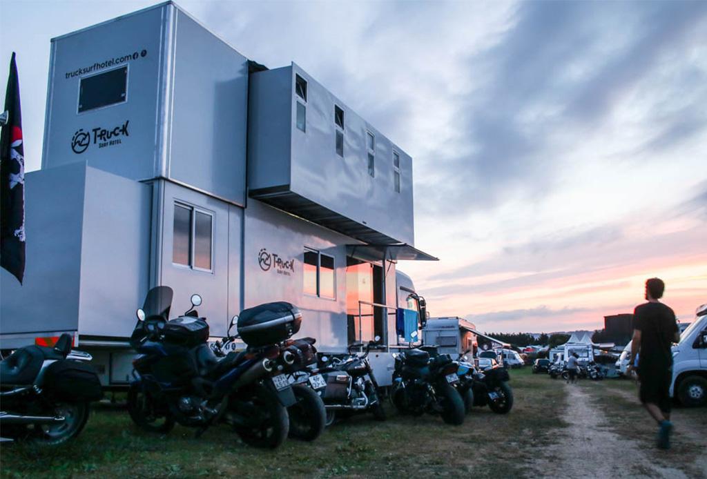 El exclusivo hotel móvil en el que desearías hospedarte - truckhotel4