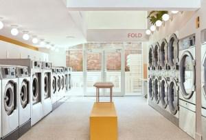 Esta lavandería en Brooklyn tiene una linda cafetería