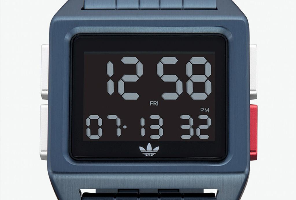 ARCHIVE M1, los relojes retro que debes tener de Adidas - adidasreloj2