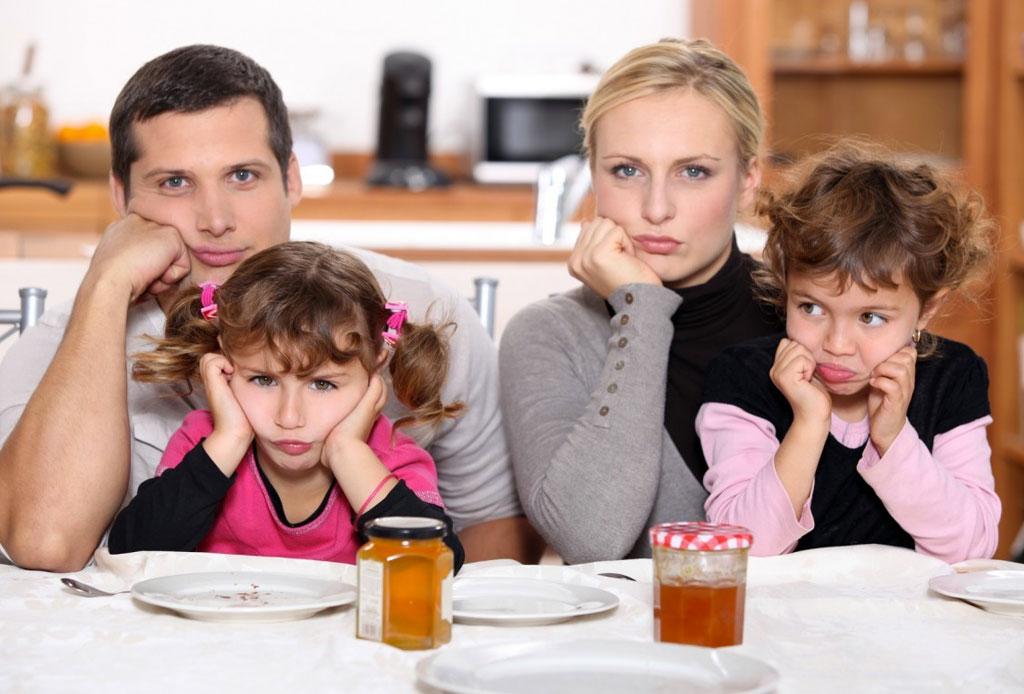 Según un estudio, las familias discuten hasta 49 minutos ¡todos los días!