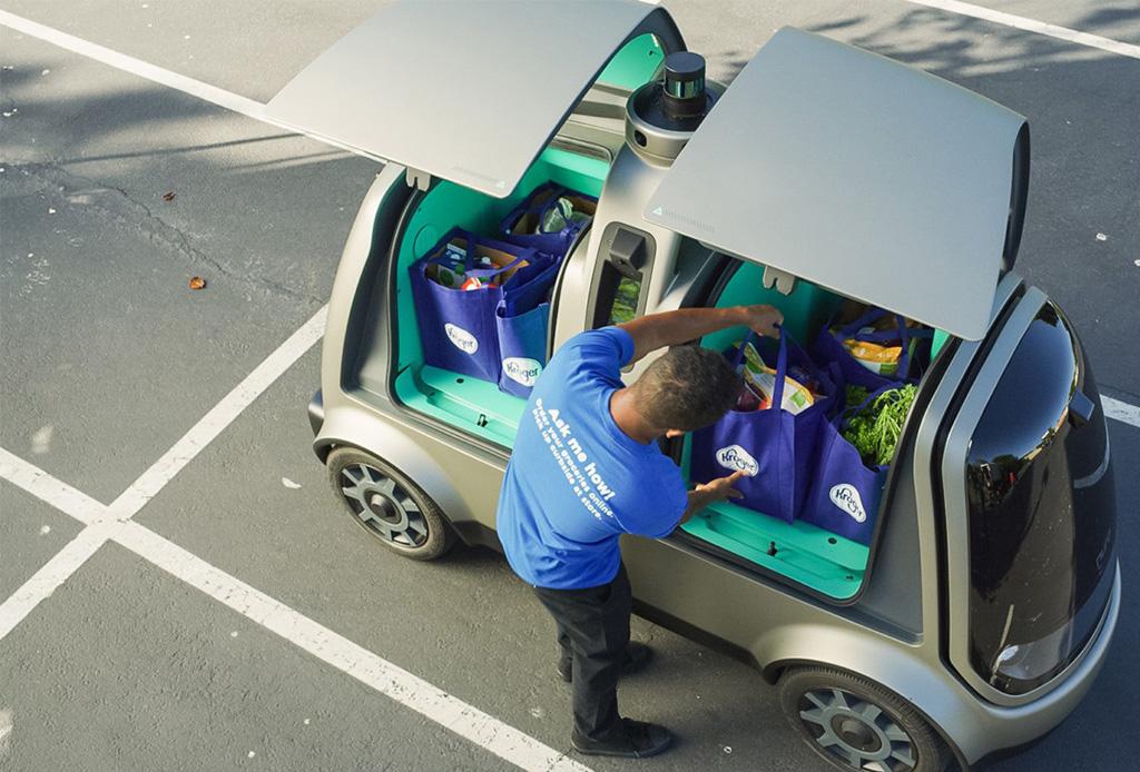 Muy pronto un coche autónomo podría llevar tus compras a casa - nuro1
