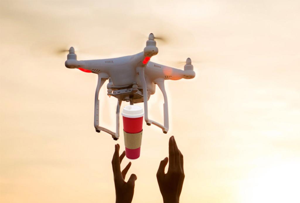 Este drone puede predecir cuando necesitas tomar un café
