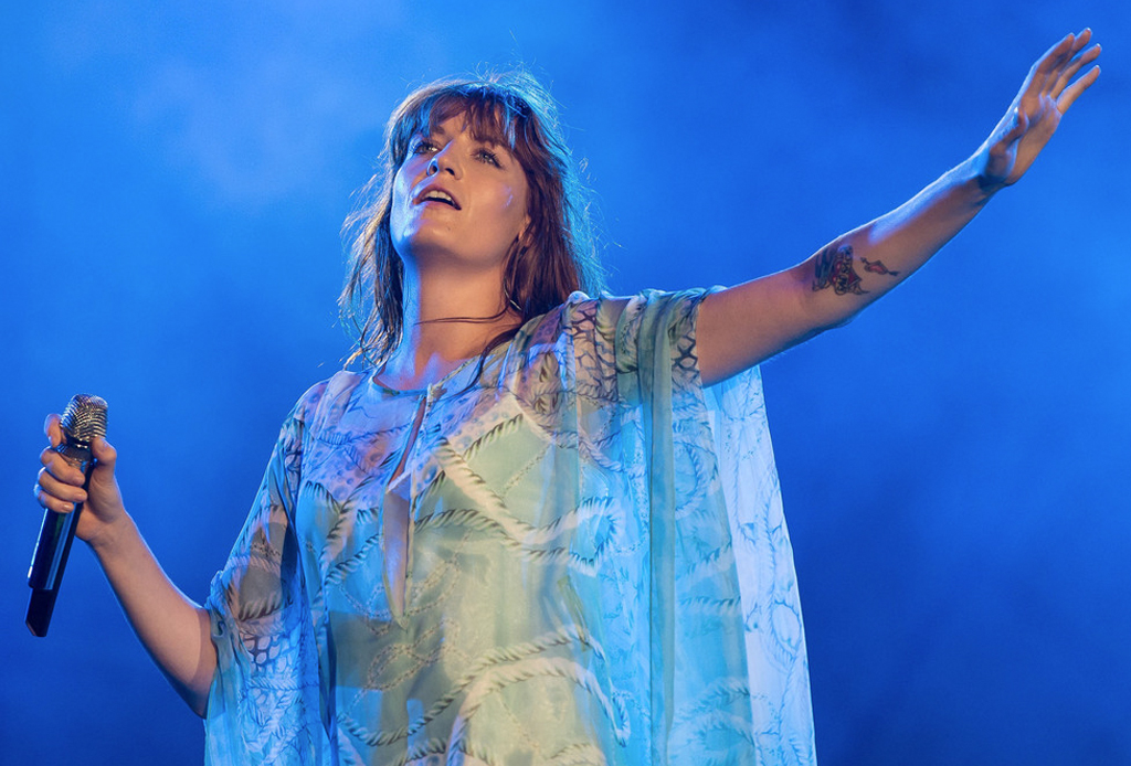 Florence and the Machine - florence-welch-antes-de-salir-al-escenario