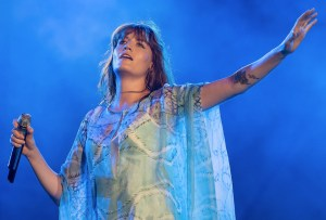 Así es como Florence Welch se prepara antes de salir a escenario