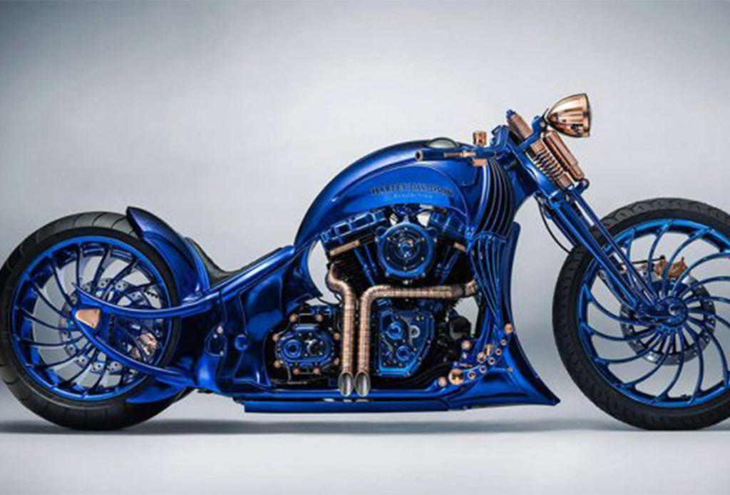 Harley-Davidson Blue Edition, la motocicleta que será tu nuevo deseo - harley1