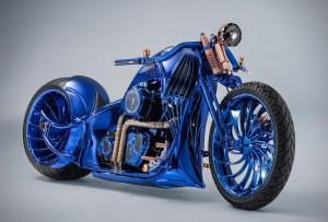 Harley-Davidson Blue Edition, la motocicleta que será tu nuevo deseo