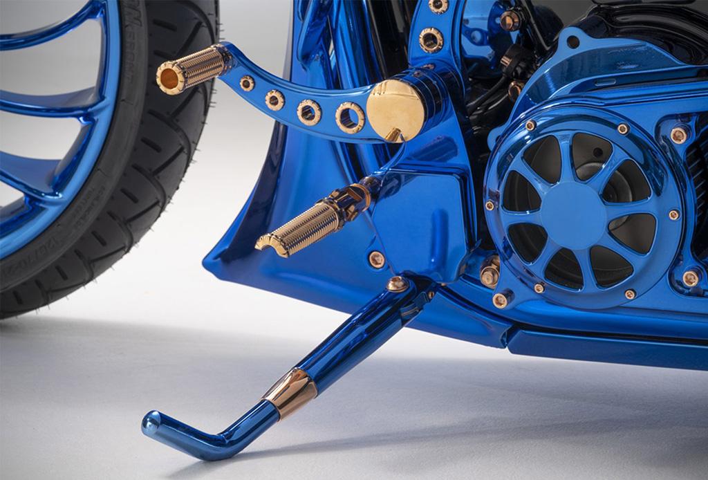 Harley-Davidson Blue Edition, la motocicleta que será tu nuevo deseo - harley4