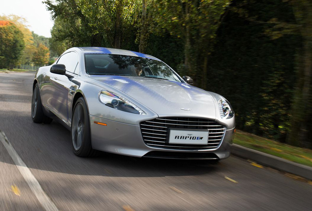 Solo se producirán 155 unidades del primer auto eléctrico de Aston Martin