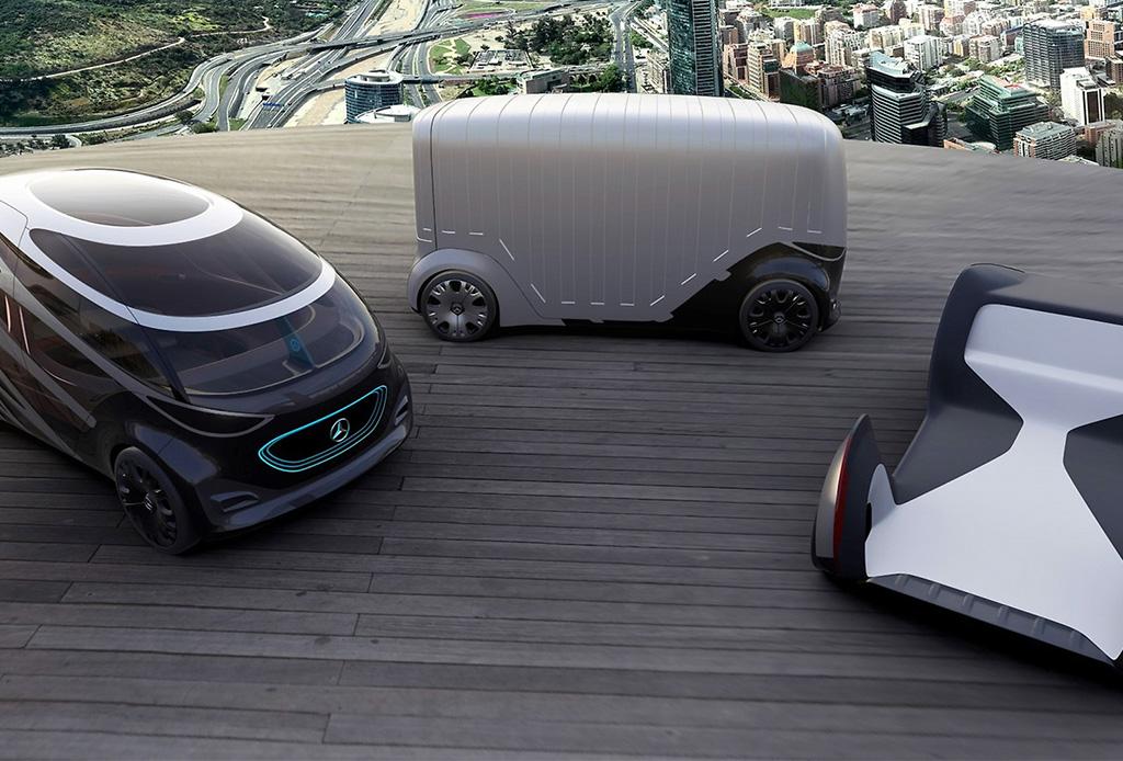 Mercedes-Benz presenta un concepto de automóvil que se convierte en una Van - van1