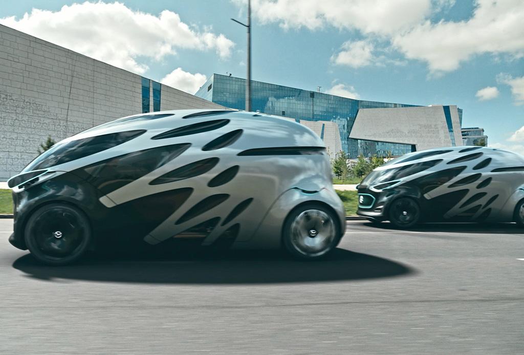 Mercedes-Benz presenta un concepto de automóvil que se convierte en una Van