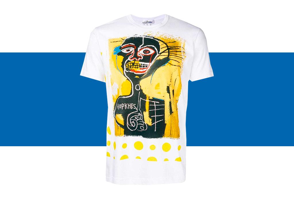 Comme des Garçons x Basquiat, ¡una colección de t-shirts que amarás! - basquiat-colaboracion-comme-des-garcons-1-1