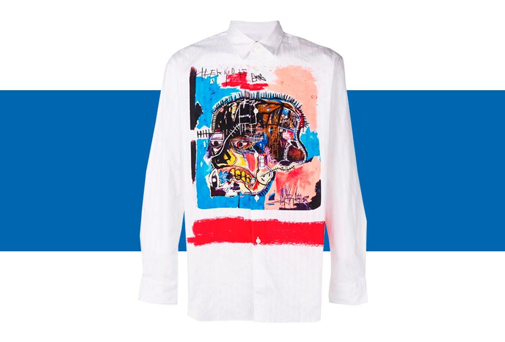 Comme des Garçons x Basquiat, ¡una colección de t-shirts que amarás! - basquiat-colaboracion-comme-des-garcons-10-1