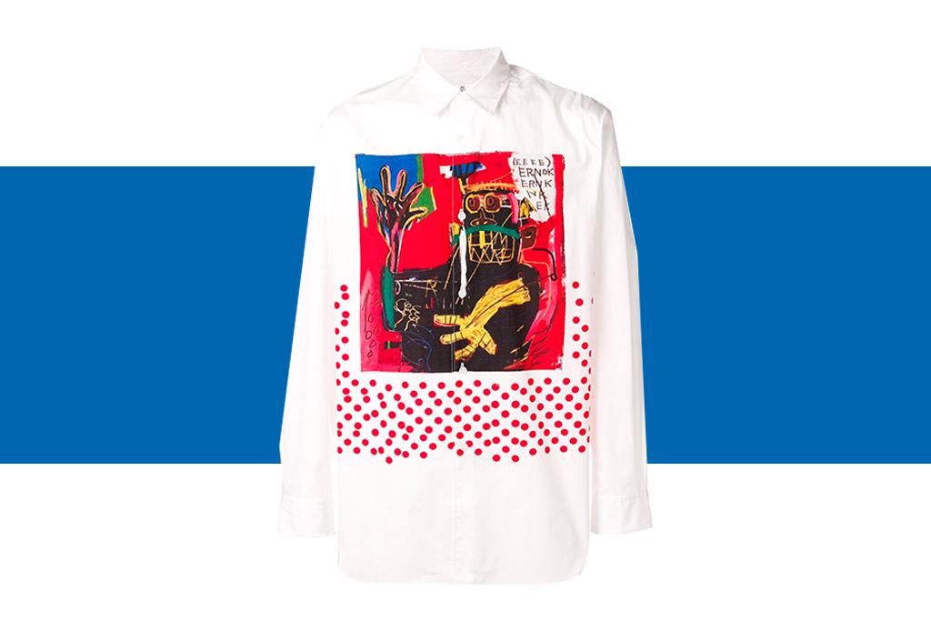 Comme des Garçons x Basquiat, ¡una colección de t-shirts que amarás! - basquiat-colaboracion-comme-des-garcons-4-1
