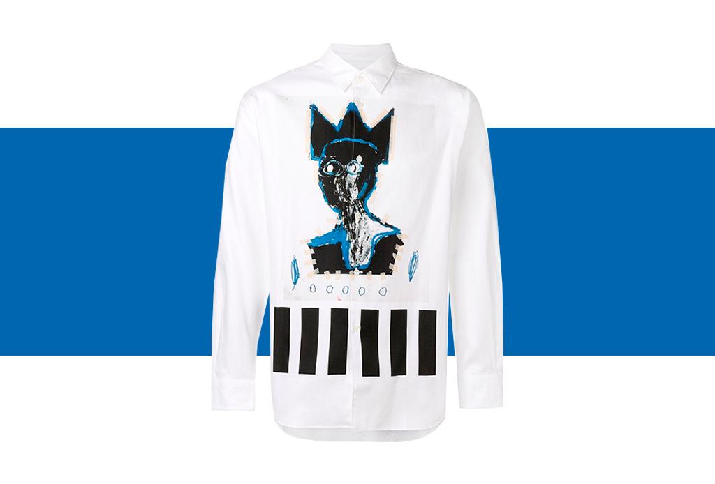 Comme des Garçons x Basquiat, ¡una colección de t-shirts que amarás! - basquiat-colaboracion-comme-des-garcons-5-1