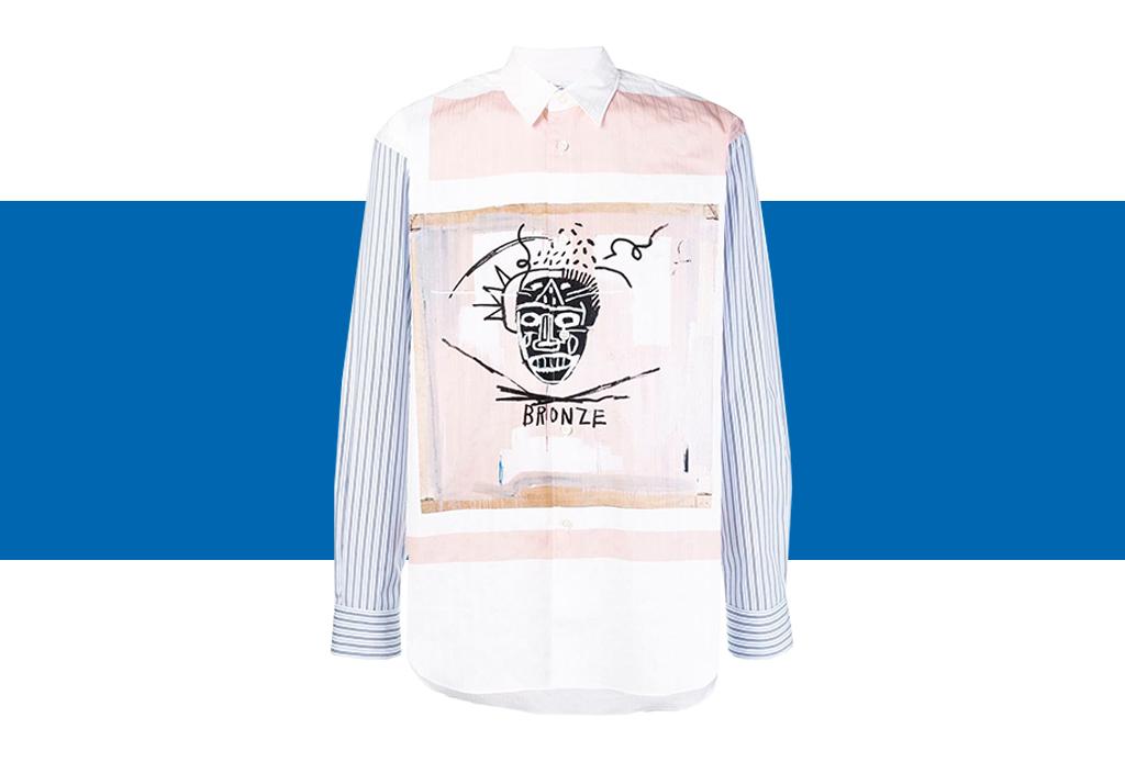 Comme des Garçons x Basquiat, ¡una colección de t-shirts que amarás! - basquiat-colaboracion-comme-des-garcons-8-1