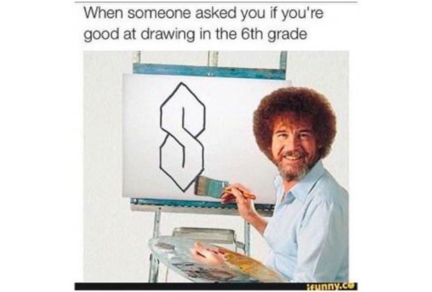 Nuestros memes favoritos de Bob Ross - bob-ross-4