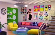 decoración arte pop